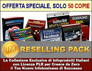 7 PLR Italiani in Offerta Limitata. CLICCA QUI e prendi la tua copia adesso!